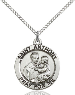 St. Anthony of Padua Medal - FN4052SF18S