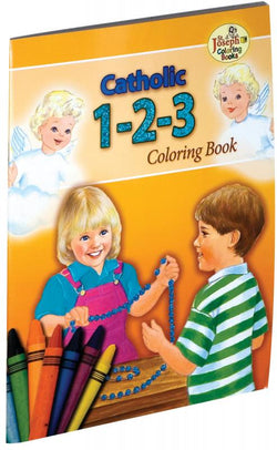 Catholic 1-2-3 Coloring Book - GF674