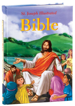 St. Joseph Illustrated Bible - GF74597