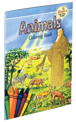 Animals of the Bible Coloring Book - GF678