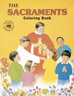 Coloring Book about Sacraments - GF687