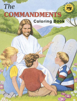 Coloring Book about the Commandments - GF688