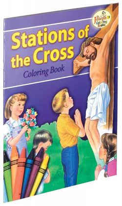 Coloring Book about The Stations of the Cross - GF689