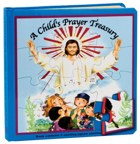 A Child's Prayer Treasury (Puzzle Book) - GF97397