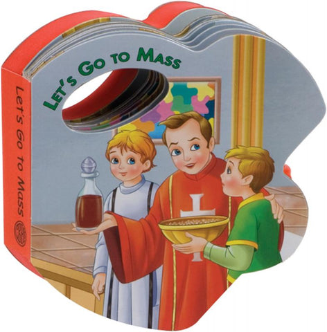 Let's Go To Mass (Rattle Book) - GF98022