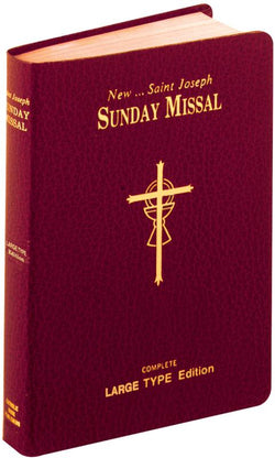 St. Joseph Sunday Missal Large Type - GF82210