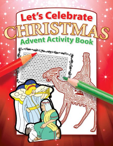 Let's Celebrate Christmas, Advent Activity Book - 9781593174590