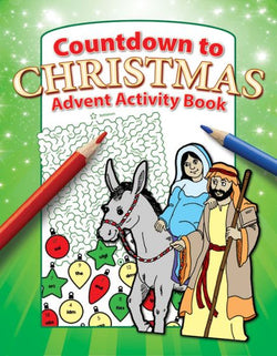 Countdown to Christmas Activity Book - 9781593179441