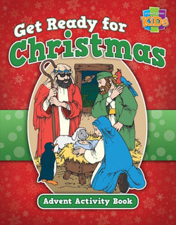 Get Ready for Christmas! Advent Activity Book - 9781684340965