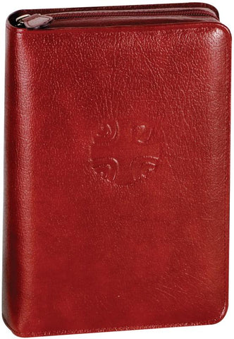 Christian Prayer Leather Zipper Case - GF40610LC