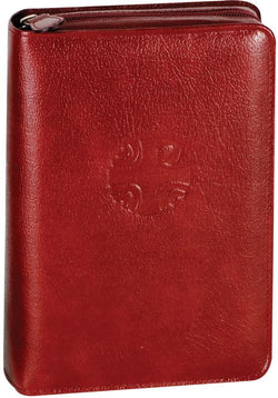 Christian Prayer Leather Zipper Case Large Type - GF40710LC