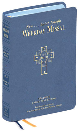 St. Joseph Weekday Missal Large Type Vol. II - GF92310