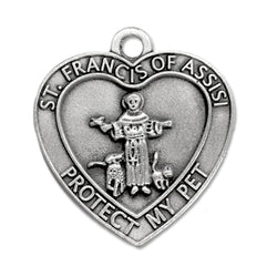 St. Francis of Assisi Pet Medal - WOSB4102
