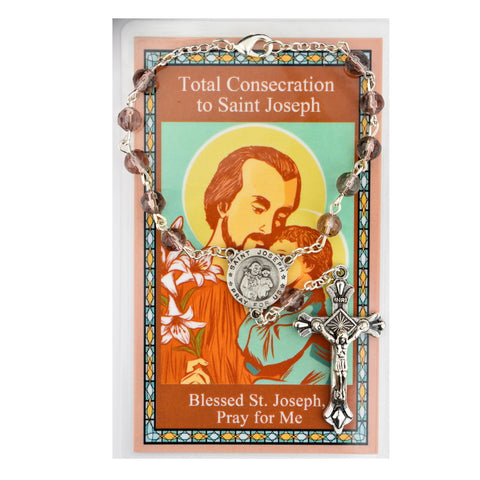 St. Joseph Auto Rosary for Total Consecration - UZAR33C
