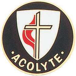 United Methodist Church Acolyte Pin - XWB13