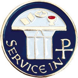 Service in Christ Lapel Pin - XWB23