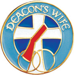 Deacon's Wife Lapel Pin - XWB44
