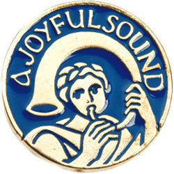 A Joyful Sound Lapel Pin Bue -XWB79