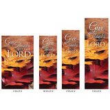 Harvest Series - Give Thanks to the Lord Banner - OFB4126
