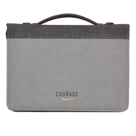 Courage Luxleather Bible Case - GCBB649