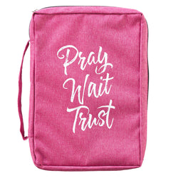 Pray Wait Trust Bible Case - GCBB660