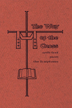 The Way of the Cross with Text from Scriptures-Large Print FQBS2051