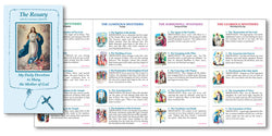 Rosary Folder with the Luminous Mysteries - FQBV1260