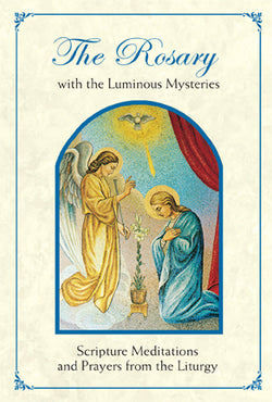Rosary Booklet with the Lumious Mysteries-Liturgy FQBX1050