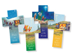 Cross Paper Christmas Cards 25 pack - TACC58A