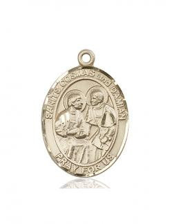 Sts. Cosmas & Damian Medal - FN7132KT