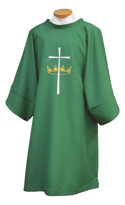 Deacon Dalmatic  with Cross & Crown - SL842