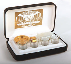 Pastoral Portable Communion Set with Last Supper White Lining EURW19