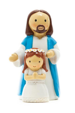 "First Communion Girl with Jesus 3.5"" - LT185243YX"