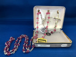 Pink Rosary-FNR3131ROS