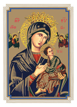 Our Lady of Perpetual Help Mass Cards FQMB203