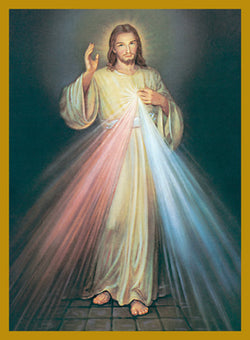 Divine Mercy Mass Cards FQMC350