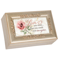 Petite Rose Gold Music Box Love - GPPRCLIGHT