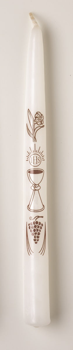 UM537 - Gold Chalice Communion Candle