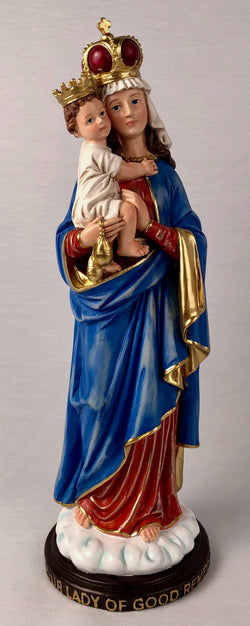 "Our Lady of Good Remedy 14"" Statue - HM97100"