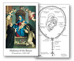 Madonna of the Rosary Holy Cards FQHG367