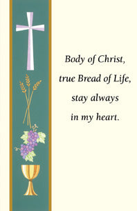 First Communion Holy Card - FQHG390