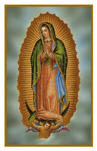 Our Lady of Guadalupe Holy Card FQHG603