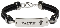 Bar Faith Bracelet - HSMM3020FA