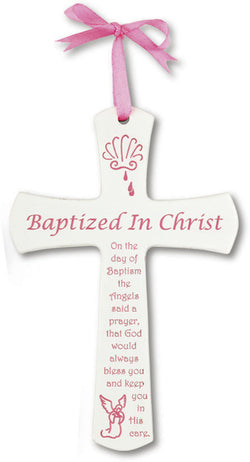 BAPTIZED IN CHRIST CROSS - HSN1943PK