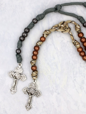 Soldier's Para-cord Rosary - HX6080