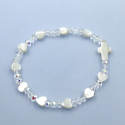 Crystal Heart Bracelet - HX63517CR