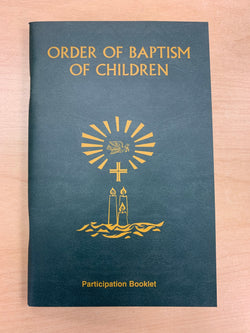 Order of Baptism Participation Booklet Revised Edition - GF8004