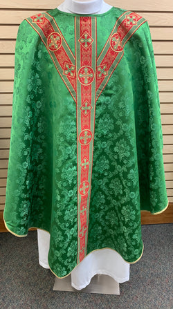 Traditional Chasuble - Green - SO4531-001G