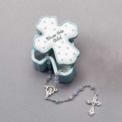 Boy Rosary Box and Rosary - LI22328