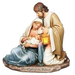 "7.25"" Holy Family with Lit Lantern - LI633271"